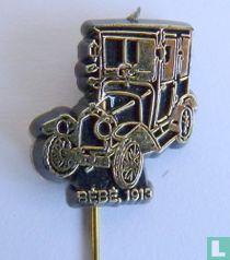 Bébé, 1913 [goud op zwart]
