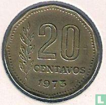 Argentina 20 centavos 1973