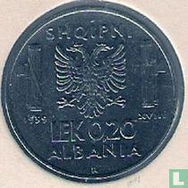 Albania 0,20 lek 1939