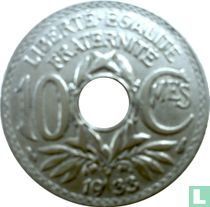 Frankrijk 10 centimes 1933
