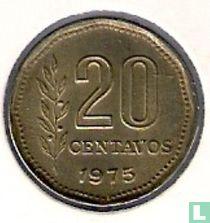 Argentina 20 centavos 1975