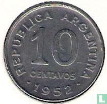 Argentinië 10 centavos 1952