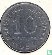 Argentinië 10 centavos 1954