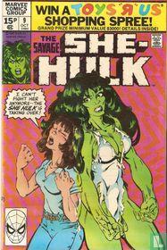 The Savage She-Hulk 9
