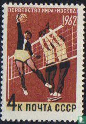 WK volleybal in Moskou