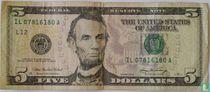 Verenigde Staten 5 dollars 2006 L