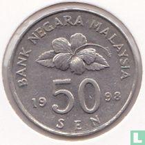 Maleisië 50 sen 1998