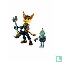 Ratchet & Clank Future: Ratchet Clank mit Transforming Action Figure