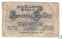 Tirol 20 Heller 1919