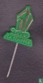 50 jaar C.A. Schipper [goud op groen]
