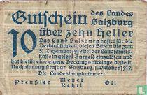 Salzburg 10 Heller 1919