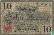 Osnabrück 10 Pfennig