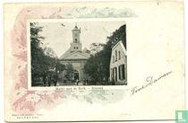 Markt met de Kerk