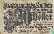 Kufstein 20 Heller 1919