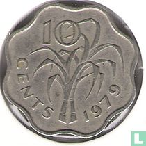 Swaziland 10 cents 1979