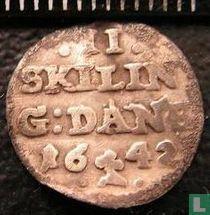 Norwegen 2 Skilling 1642