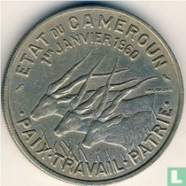"Cameroon 50 francs 1960 ""Independence"""