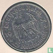 """Duitse Rijk 5 reichsmark 1934 (D - zonder datum) """"1st Anniversary of Nazi Rule - Potsdam Garrison Church"""""""