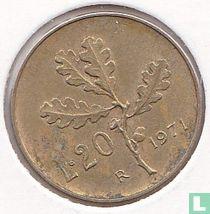 Italië 20 lire 1971