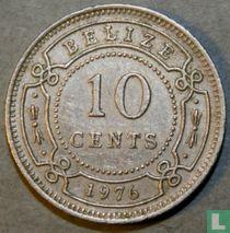 Belize 10 cents 1976