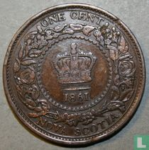 Nova Scotia 1 cent 1861