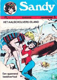 Het Aalscholver-eiland