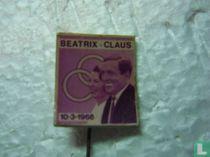 Beatrix - Claus 10-3-1966