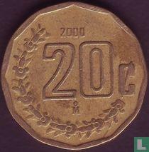 Mexico 20 centavos 2000