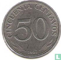 Bolivia 50 centavos 1967