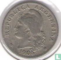 Argentinië 20 centavos 1905