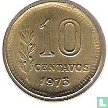 Argentina 10 centavos 1973