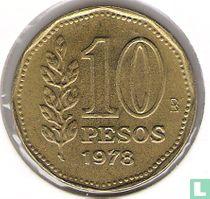 Argentina 10 pesos 1978