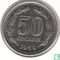 Argentinië 50 centavos 1959