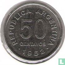 Argentinië 50 centavos 1952