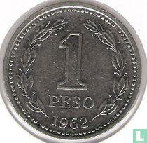 Argentinië 1 peso 1962