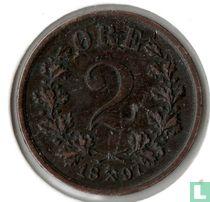 Norwegen 2 Öre 1897