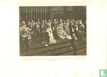 Inhuldiging van H.M. Koningin Wilhelmina in de Nieuwe Kerk te Amsterdam 6 september 1898