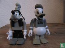 Donald Duck en Goofy