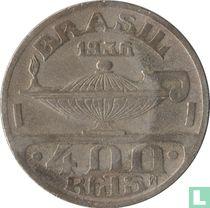 Brasilien 400 Réis 1936