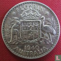 Australië 1 florin 1940