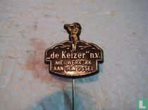 """""""de Keizer"""" n.v. Nieuwerkerk aan den IJssel [black]"""