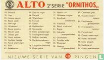 Beschrijvingskaart - Serie Ornithos 2
