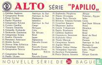 Beschrijvingskaart - Série Papilio