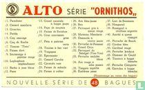 Beschrijvingskaart - Série Ornithos 1
