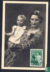 H. M. Queen Astrid and Z. H. Prince Baudouin