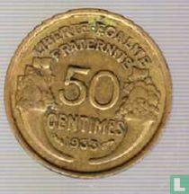 Frankrijk 50 centimes 1933 (gesloten 9)