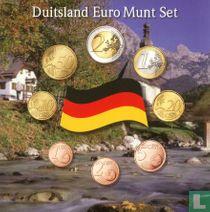 Duitsland jaarset 2002 (J - Amsterdams muntkantoor)