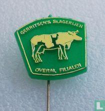 Gerritsen's Slagerijen Overal filialen [groen]