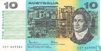 Australië 10 Dollars ND (1985)