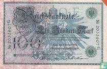 Germany 100 Mark 1908 (P34)